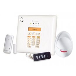KIT ALLARME ANTIFURTO WIRELESS VIA RADIO BENTEL BW30 CON COMBINATORE GSM